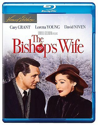 THE BISHOP'S WIFE (Cary Grant)  -  Blu Ray - Sealed Region free