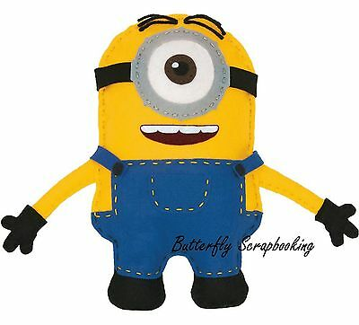 MINIONS STUART Felt Fun Sewing Embroidery Kit by Dimensions 72-74480 NEW