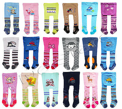 Baby Toddler Kid Boy/Girl Cotton Tights Anti Slip Leg Warmers 0-6-12-18 months