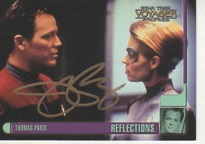 "Jeri Ryan Signed 1998 Skybox ""Star Trek"" Voyager #26 - Seven Of Nine"