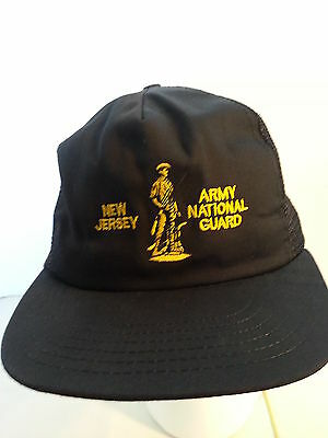 New Jersey Army National Guard Ball Cap Hat / Vintage
