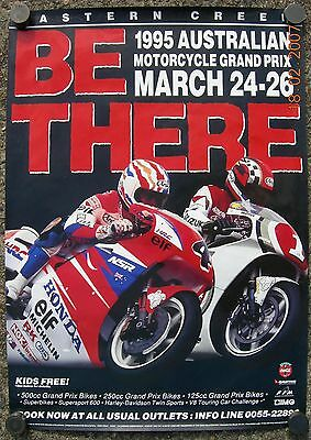 """"""" Be There """" 1995 Australian Motorcycle Gp March 24-26 Eastern Creek Very Rare"""