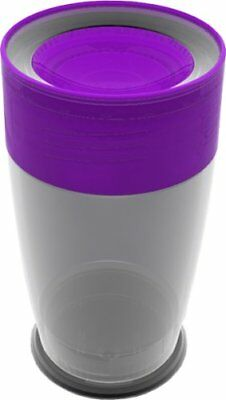 Litecup - Purple no spill  glow in-the-dark cup!!!