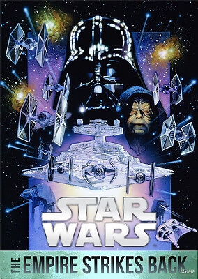 """Star Wars Episode V 5- The Empire Strikes Back Wall Movie Poster 34""""x24"""""""