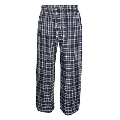 Boys / Girls Youth Flannel Pants Navy / Gray Sizes NWT