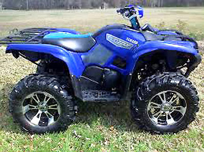 Yamaha Grizzly YFM 700 2007 Service Manual and Owner's Manual