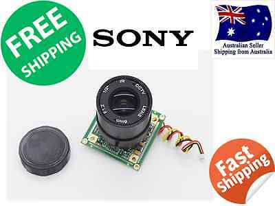 1/3-inch SONY CCD Video Camera 700TV Lines RC Plane  RECORD IN-FLIGHT VIDEO FPV