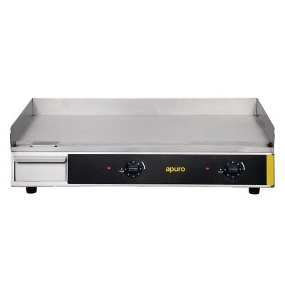 Apuro Extra Wide Countertop Electric Griddle Grill Hot Plate Kitchen Cooking