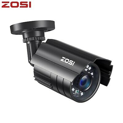 ZOSI HD 720p 4in1 1500TVL CCTV Security Bullet  Camera Outdoor 65ft Night Vision