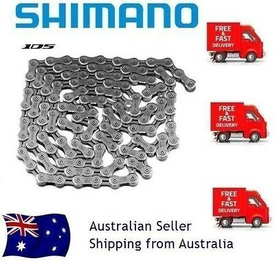 SHIMANO 105 11 SPEED CHAIN HG601 / 5800 BRAND NEW RRP $59.95 Express Post