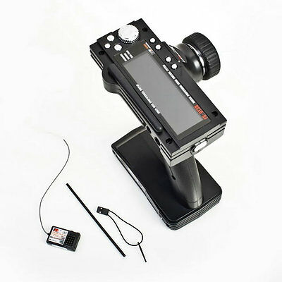 Flysky FS-GT3B 2.4G 3CH Transmitter With Receiver Fail-Safe For RC Car Boat LD