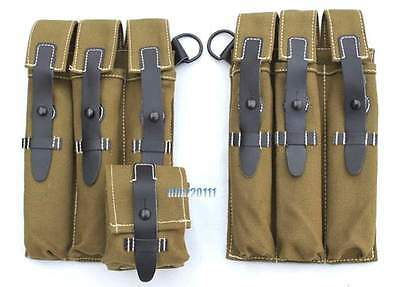 WWII WW2 German Army WH HEER MP38 MP40 Ammo Ammunition Pouch –GM015