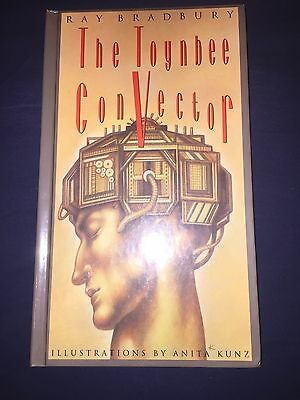 The Toynbee Convector By Ray Bradbury Hand Signed Autograph
