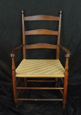 Antique Skaker Arm Chair Stamped #5 on Back of Chair