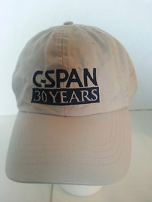 C-Span 30 Years / Created by Cable Ball Cap Hat