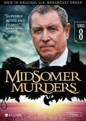 Midsomer Murders: Series 8 (2014, DVD NUEVO) WS4 DISC SET (REGION 1)