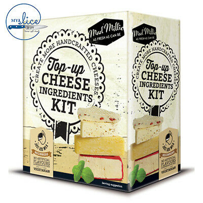 Mad Millie Top Up Cheese Making Ingredients - Fresh, Italian, Artisan Cheese kit