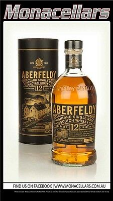 Aberfeldy Highland Single Malt Scotch Whisky 12YO 700ml