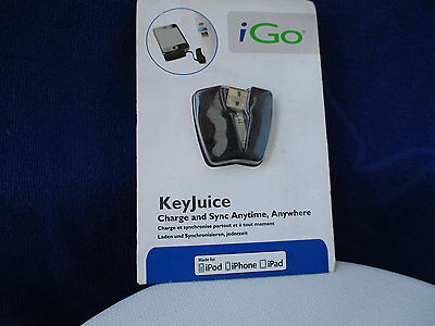 Key Juice Charge And Sync Anytime Ipod/ Iphone / Ipad