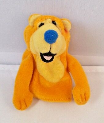 """1999 Applause Bear in the Big Blue House Finger Puppet Plush 3"""""""