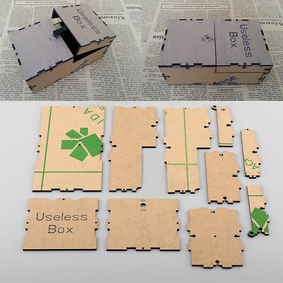 Useless Machine Box Kit Leave Me Alone DIY Ultimate New Gift Assembled Science