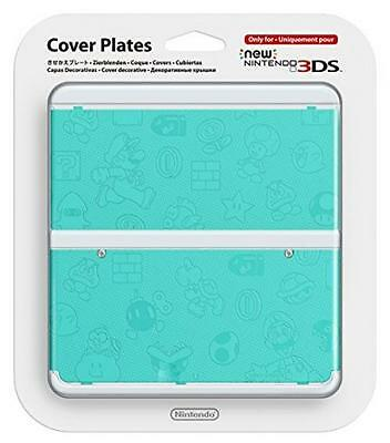 Nintendo Cover Plate Kisekae plate No.026 (embossed blue) for New Nintendo 3DS
