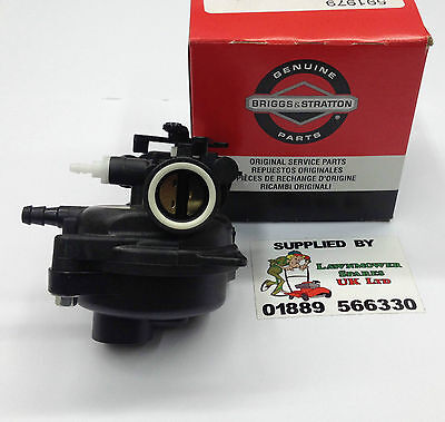 GENUINE BRIGGS & STRATTON 450e SERIES 125cc LAWNMOWER ENGINE CARBURETTOR 591979