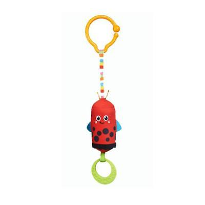 Tiny Love Friend Wind Chime Clip on Toy- Ladybug