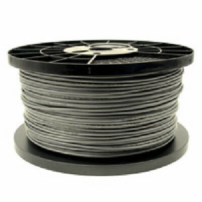 1000 ft. 4-Conductor Flat - UL/CSA - 26AWG - Silver Satin - Ideal for Telephone