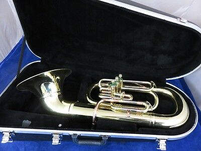 GETZEN SUPER DELUXE MARCHING BARITONE HORN, Bb, COMPLETELY RESTORED!