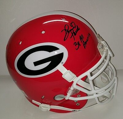 David Pollack Georgia Bulldogs Autographed Pro Line w Inscription & photo