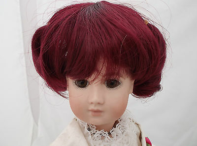 Bjd Dolls Wig For 8 Inch Head Colour Wine Cbw-3202N