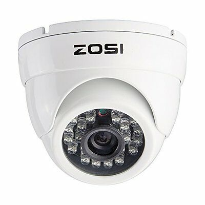 ZOSI 4CH 1080p TVI HDMI DVR CCTV IR Cut Outdoor Home Security Camera System Kit