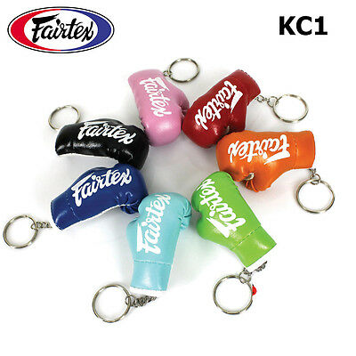 Fairtex Key Chains Rings Gloves Muay Thai Kick Boxing Mma Fighting Collectibles