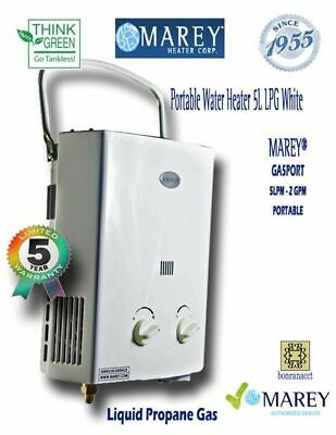 Tankless Water Heater Portable Propane Gas Marey Best Food Truck RV Camper