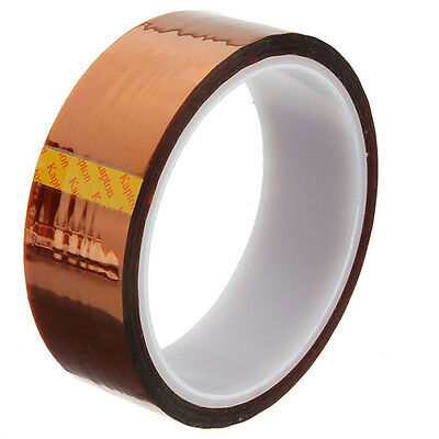 5/10/20/30/50mm X100ft High Temperature Heat Resistant Polyimide Tape HP