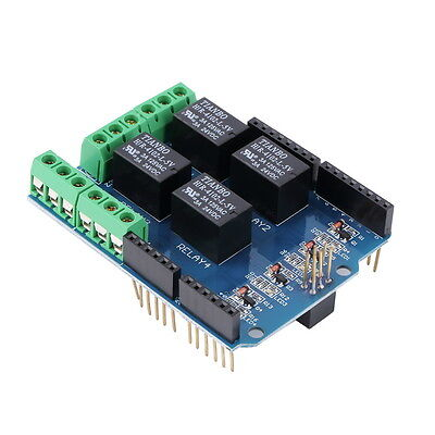 4 Channel 5V Relay Module Board Shield For PIC AVR DSP ARM MCU Arduino SN