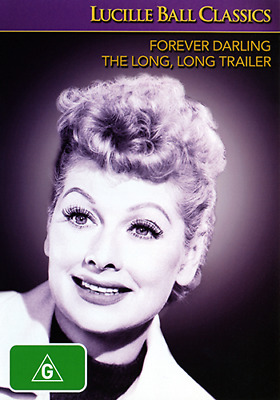 Lucille Ball FOREVER DARLING & THE LONG LONG TRAILER - CLASSIC COMEDY 2 DISC DVD