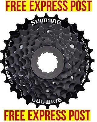 [S] Shimano HG200 12-28t 7Spd Cassette CS-7-Speed CS HG200 FREE EXPRESS POST