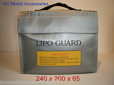 Lipo Safe Charging  Bag Safety Fireproof Charging Carry Sack.