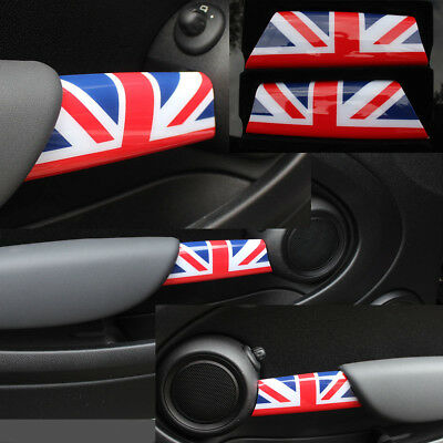 TÜRGRIFF VERKLEIDUNG für MINI ONE COOPER R55 R56 R57 R58 R59 in UNION JACK COLOR