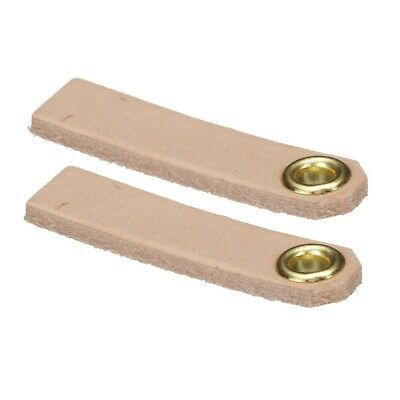 Candy Floss Machine Parts Leather Floaters (Set of 2)
