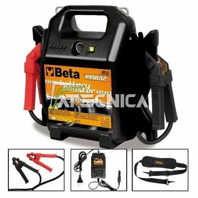 Booster Avviatore Caricabatterie Auto Beta Tools 1498/12 12 V Professionale