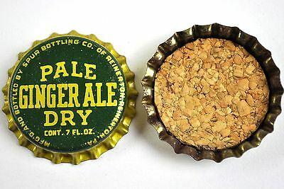 Vintage Pale Ginger Ale Dry Kronkorken USA Soda Bottle Cap