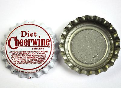 Vintage Diet Cheerwine Kronkorken USA Soda Bottle Cap
