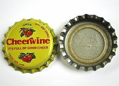 Vintage Cheerwine Kronkorken USA Soda Bottle Cap