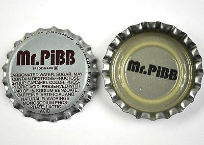 Vintage Coca Cola Mr. Pibb Kronkorken USA Soda Bottle Cap