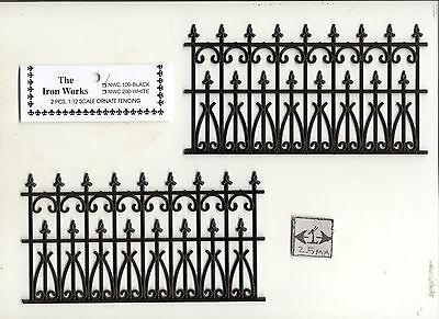 Victorian Railing dollhouse Miniature 1/12 scale NWC100  2pc plastic fence