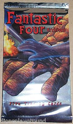 2008 Rittenhouse Archives Fantastic Four Archives sealed pack