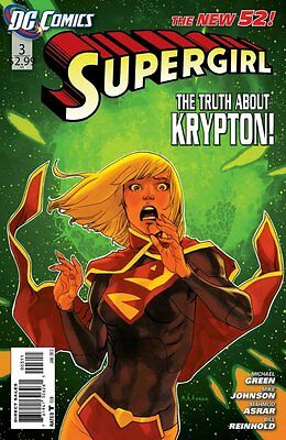 SUPERGIRL ISSUE 3 - DC COMICS NEW 52 FIRST 1st PRINT - CBS TV SERIES
